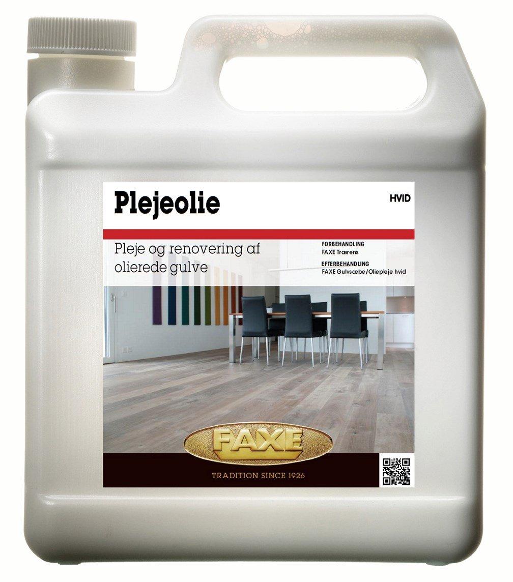 Faxe Plejeolie hvid - 1 L