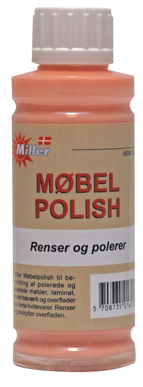 Miller møbelpolish 250 ml