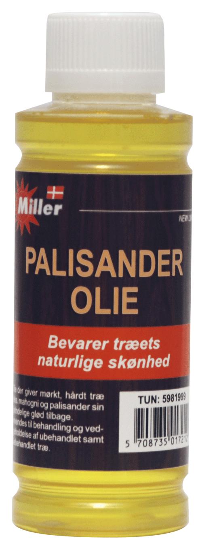 Miller palisanderolie 250 ml