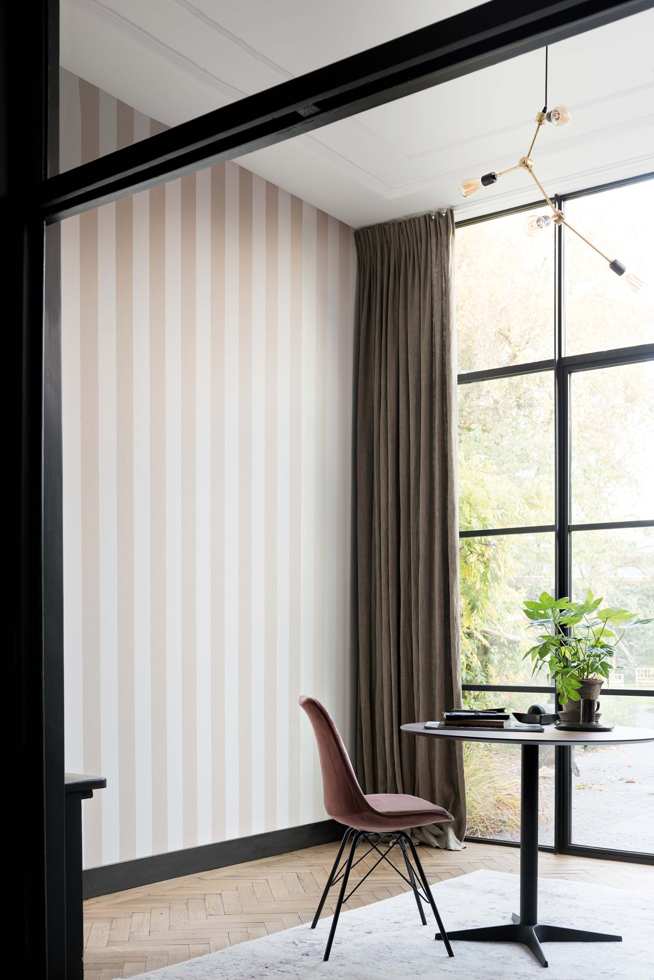 Stripes Beige/Off White