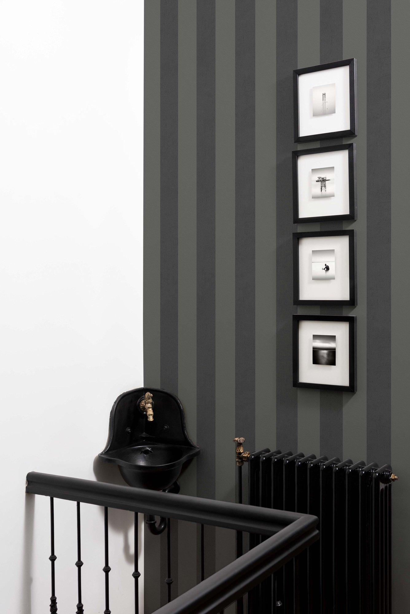 Stripes Black/Grey
