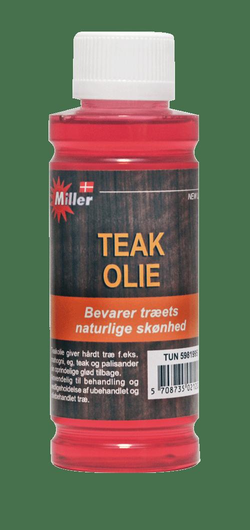 Miller teakolie 250 ml
