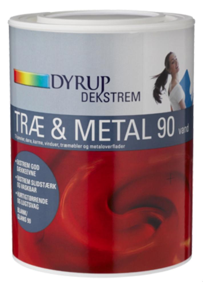 Dekstrem træ & metal acryl 90 - DYRUP - efarvehandel.dk