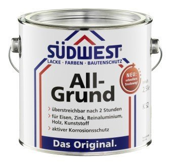 Südwest All-Grund grunder sort 9005 0,75 L