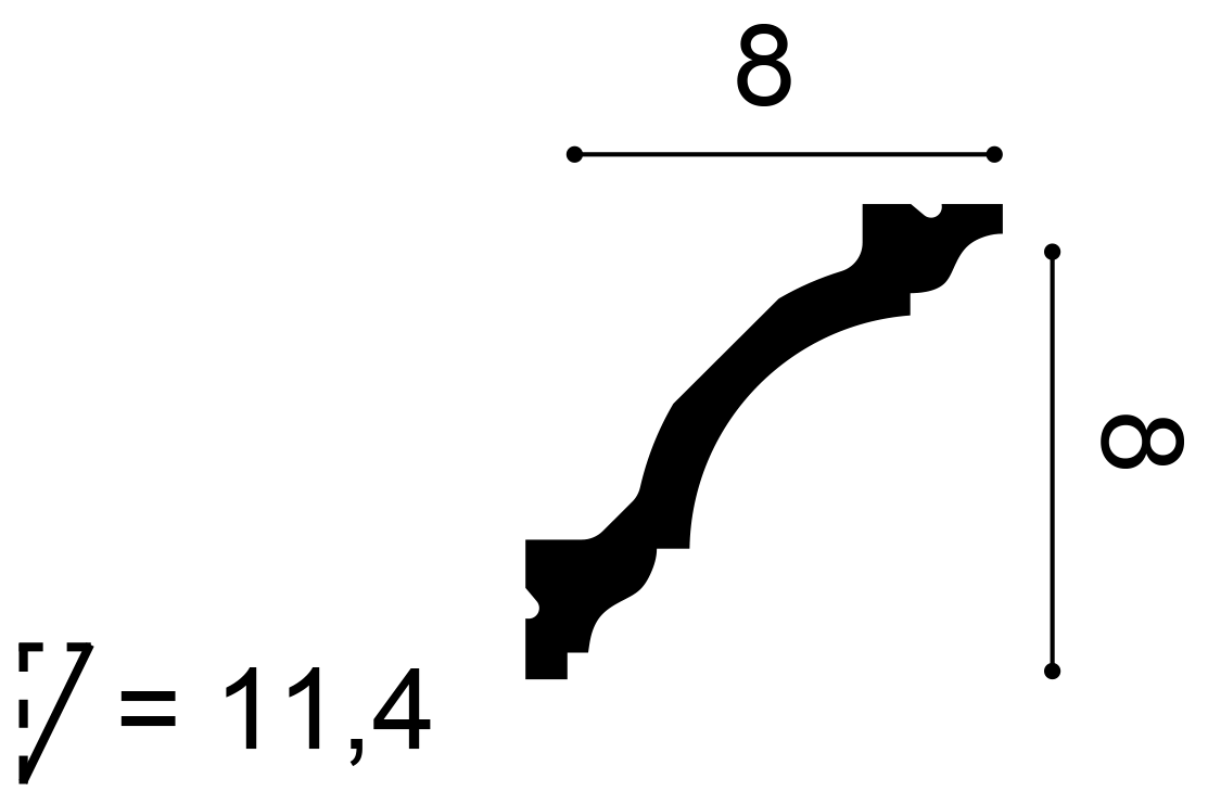 Orac Decor - C213F Flex stukliste