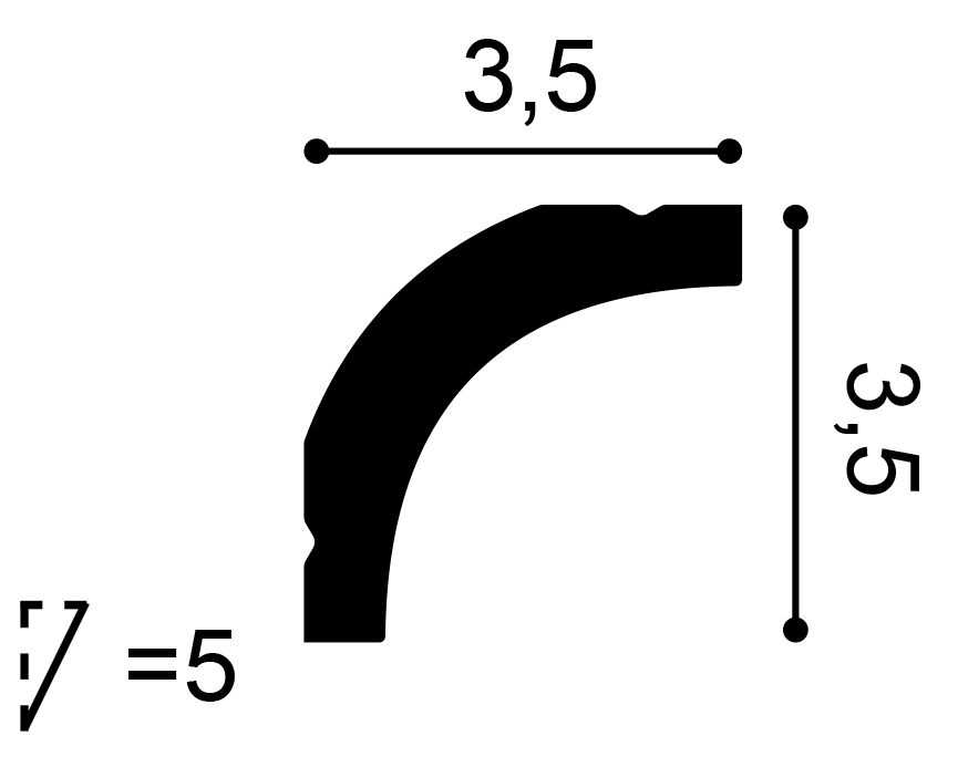 Orac Decor - CB520 Durofoam stukliste