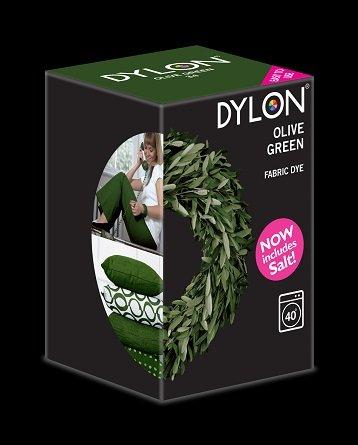 Dylon maskinfarve (olive green) All-in-1