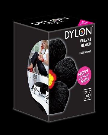 Dylon maskinfarve (velvet black) All-in-1