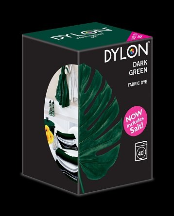 Dylon maskinfarve (dark green) All-in-1