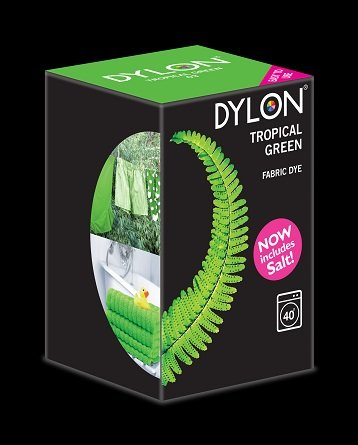 Dylon maskinfarve (tropical green) All-in-1