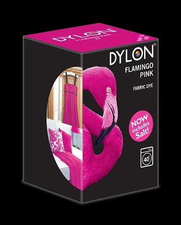 Dylon maskinfarve (flamingo pink) All-in-1