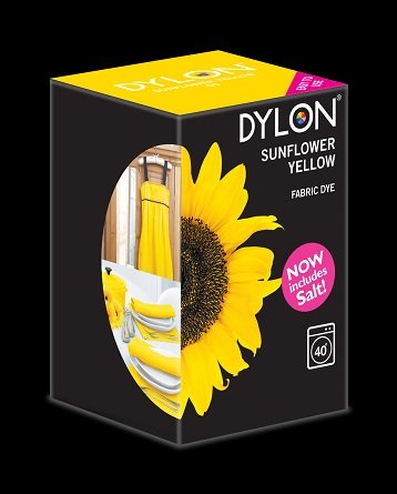 Dylon maskinfarve (sunflower yellow) All-in-1