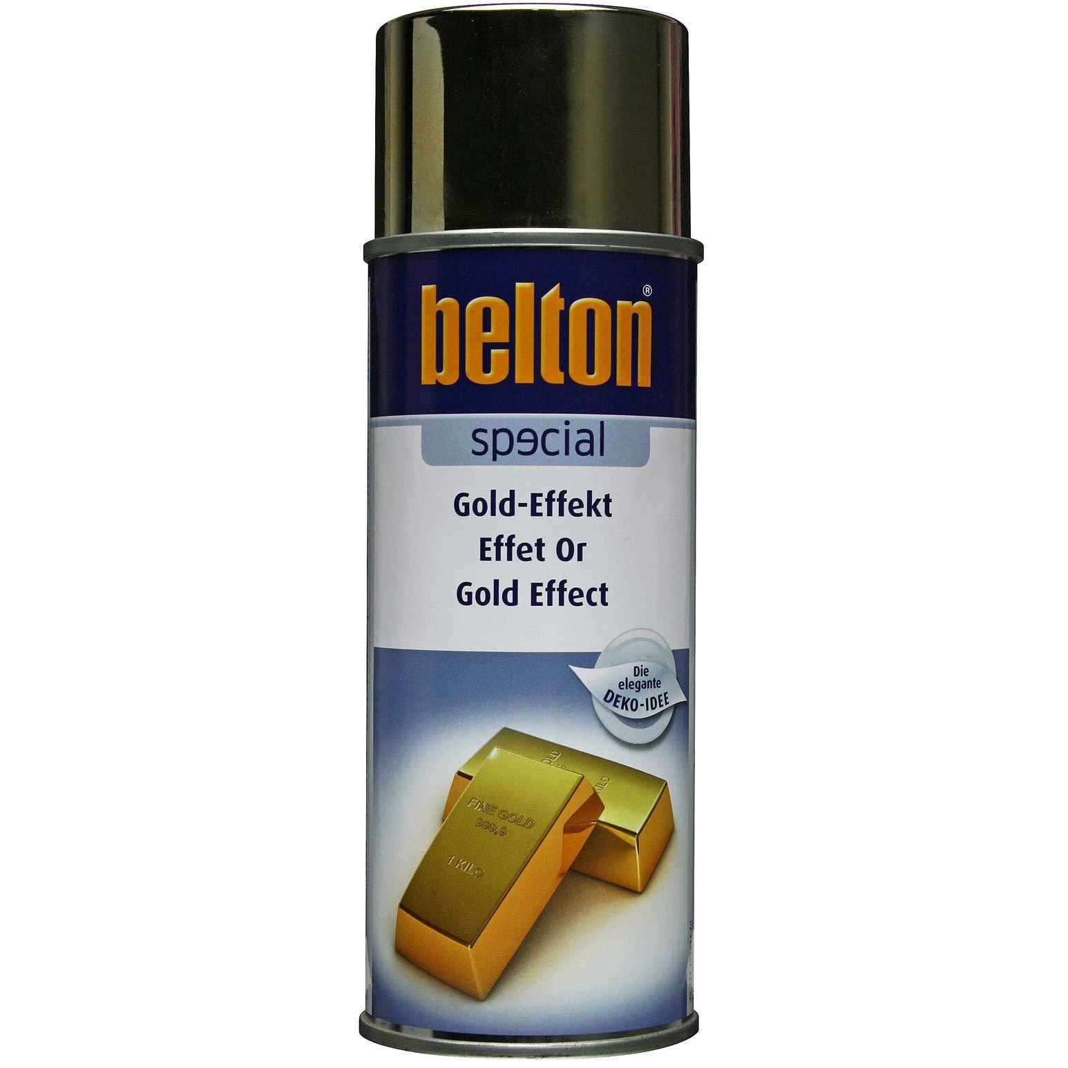 Belton effektspray med guldeffekt