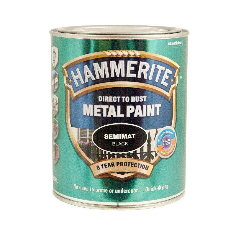 Hammerite semimat finish 750 ml.