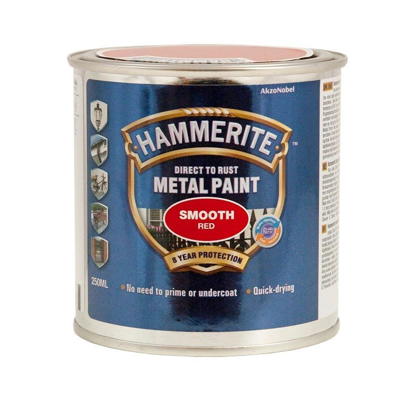 Hammerite glat finish 250 ml.