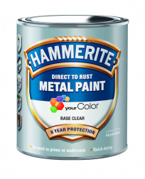 Hammerite glat finish - Skriv farve