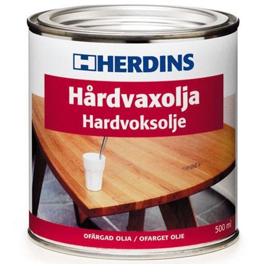 Herdins Hårdvoksolie ultramat 0,5 L