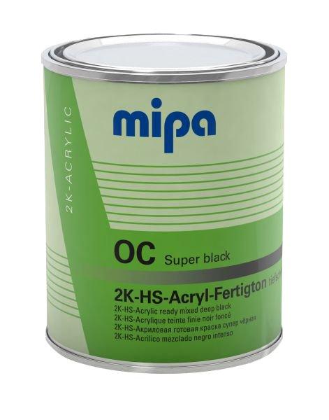 Mipa OC 2K HS Acryl autolak blank sort 1 L
