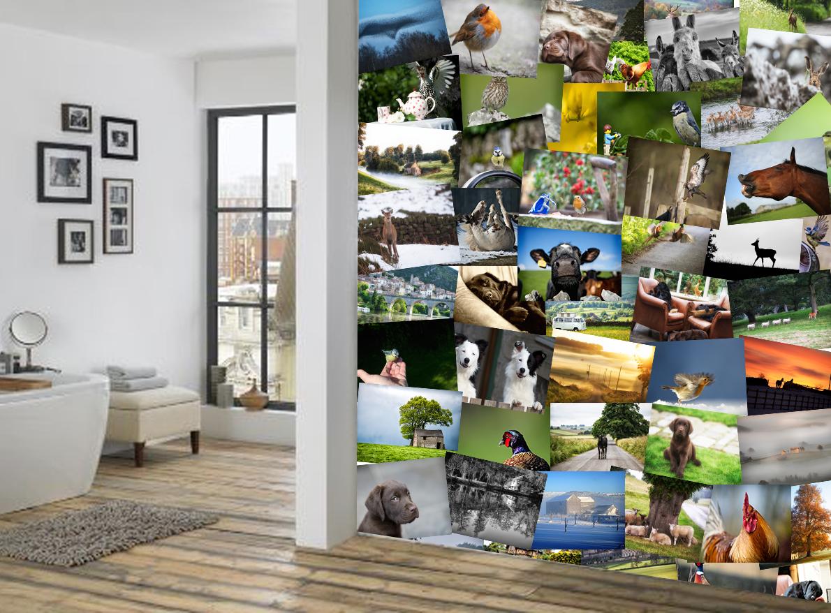 Creative collage village 1wall - Webs de decoracion ...