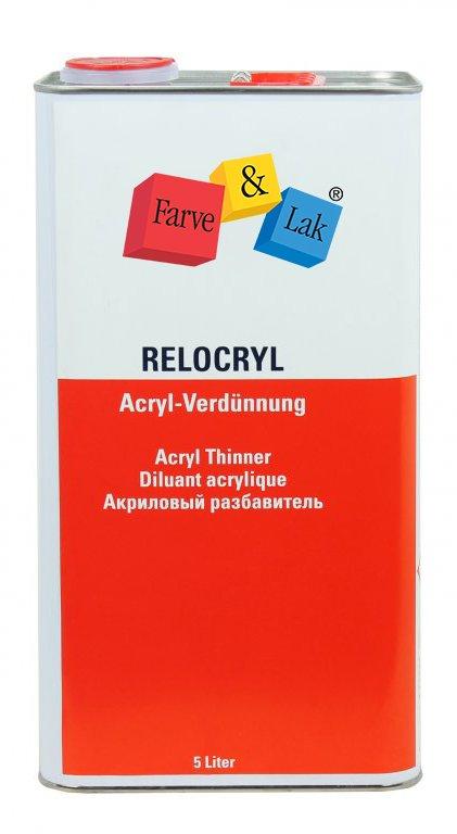 Relocryl akryl fortynder 5 L