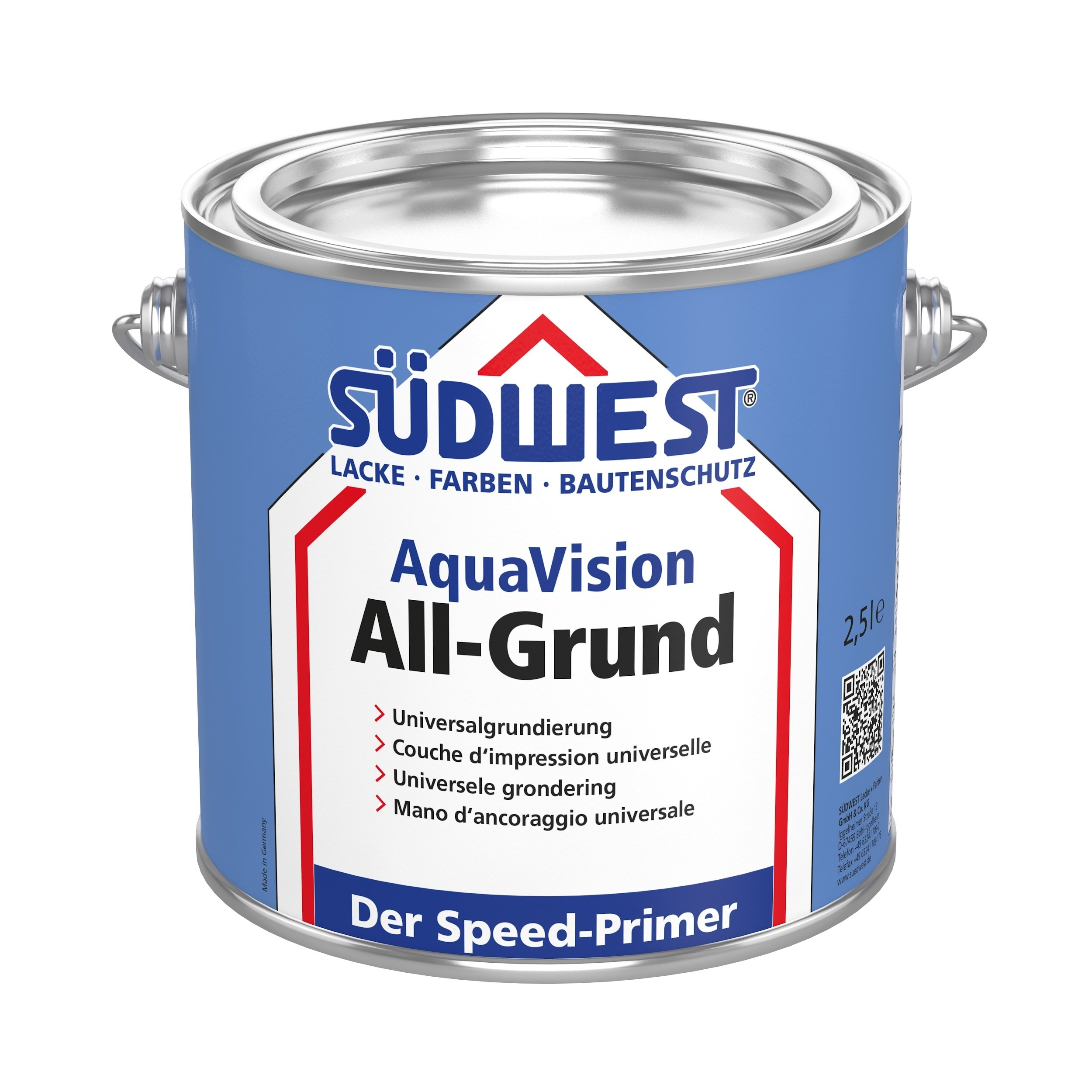 AquaVision All-Grund sort 0,375 L