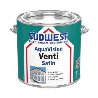 Südwest AquaVision Venti Satin Vinduesmaling-2,5 L