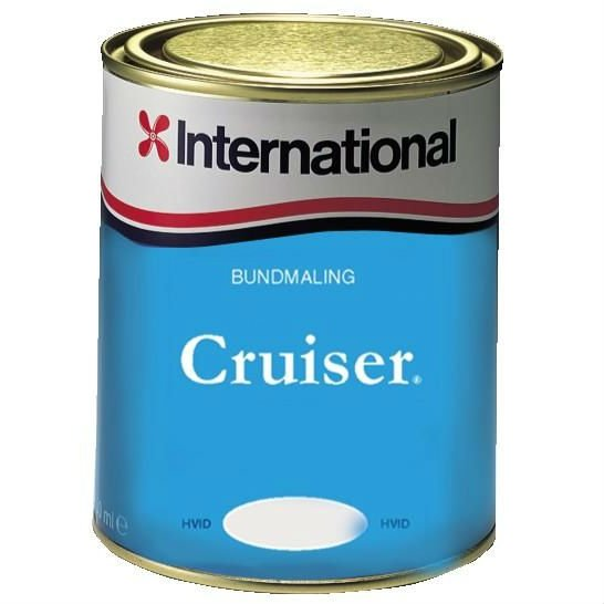 Cruiser bundmaling Rød - 3 L