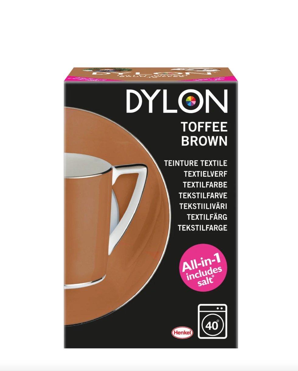 Dylon maskinfarve 40 (Toffee Brown) All-in-1