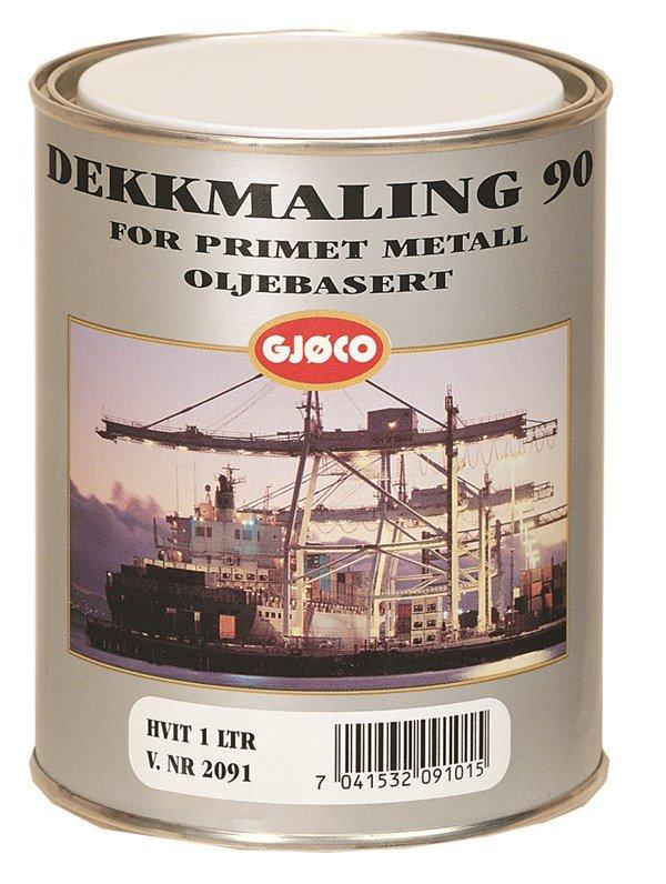 Gjøco Dekkmaling 90 oliebaseret 3 L