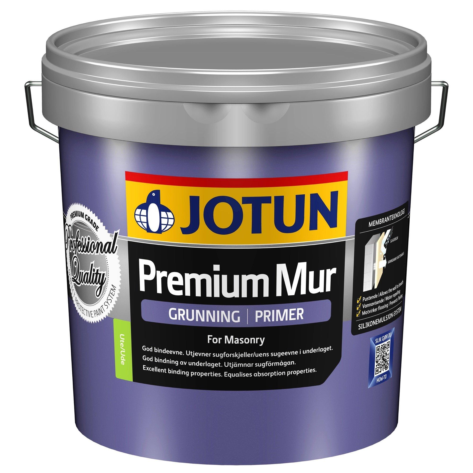 Jotun Premium Mur Silikonemulsjon Grunder