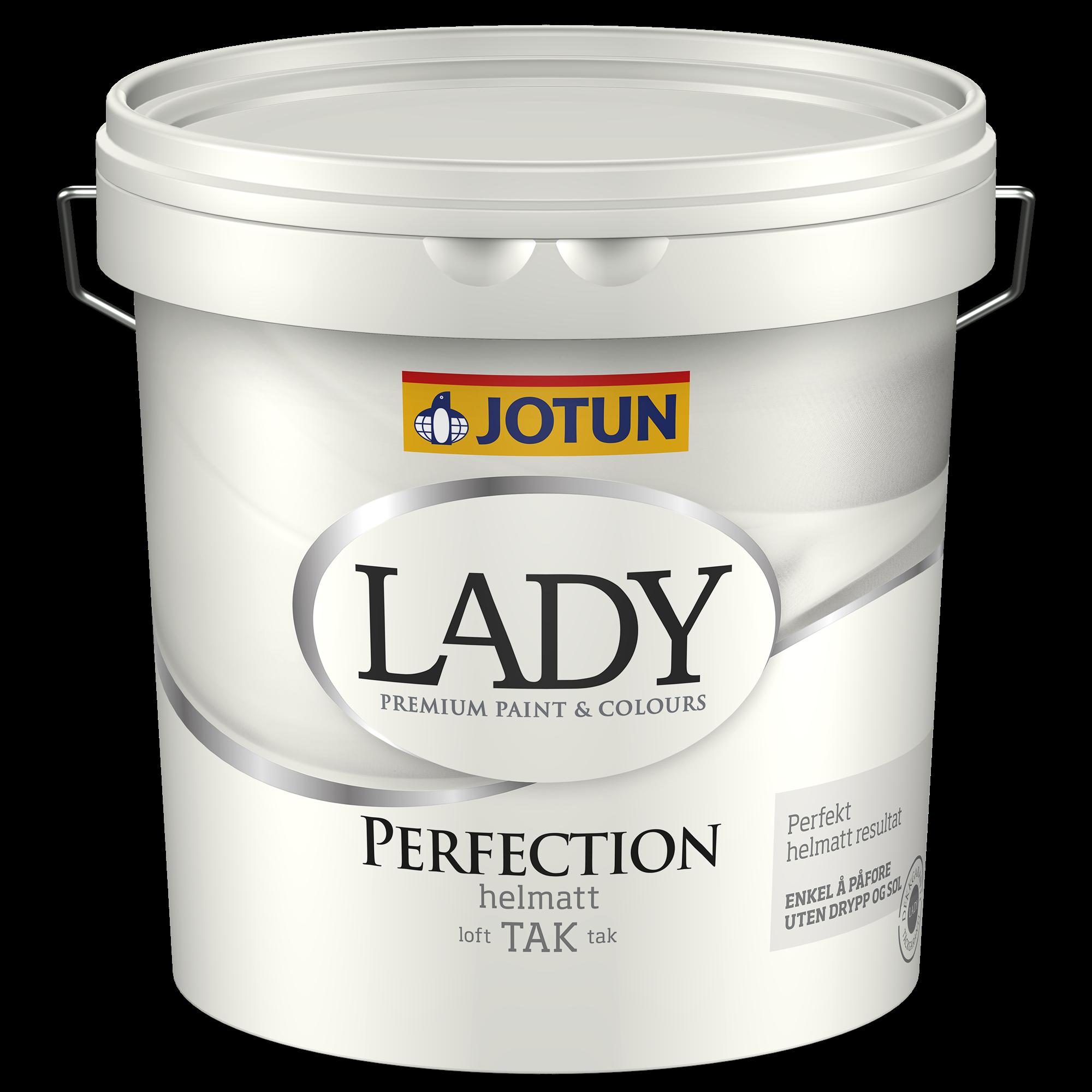 LADY Perfection loftmaling hvid (02) 9 L