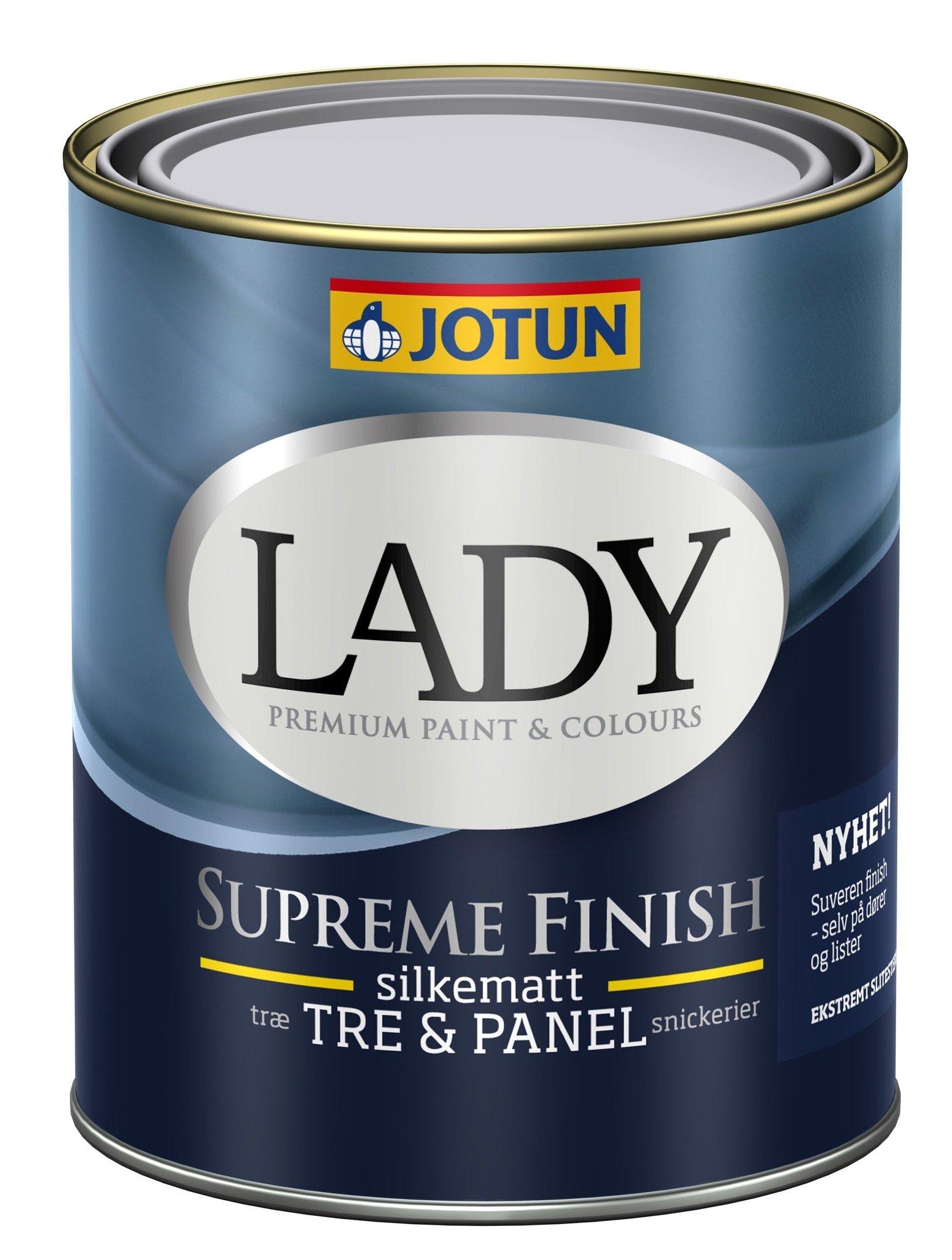 LADY Supreme Finish Silkemat glans 15 - 2,7 L