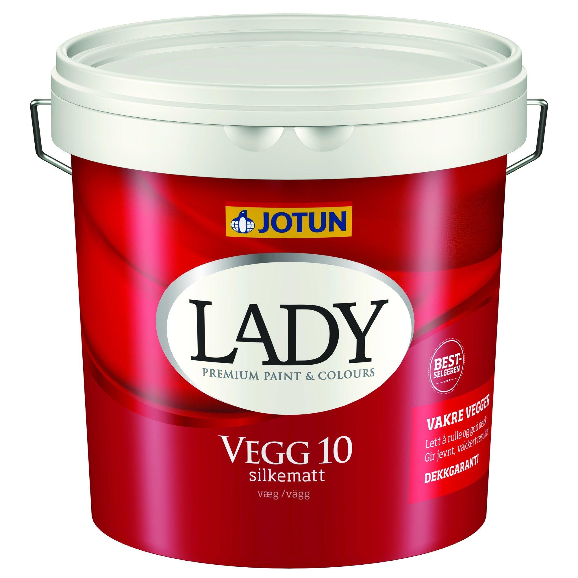 LADY Væg 10 9 L