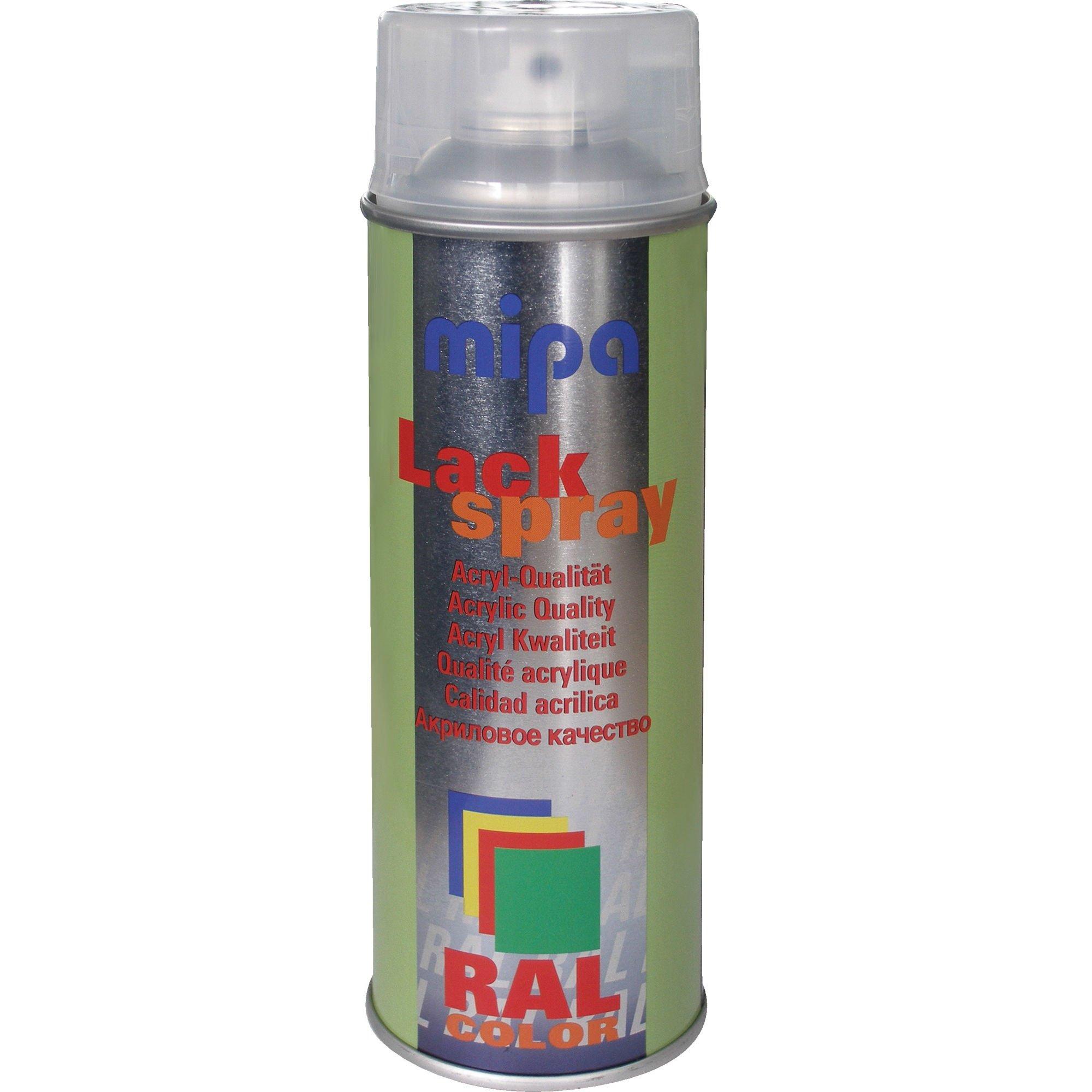 Mipa RAL 9005 Lackspray mat sort