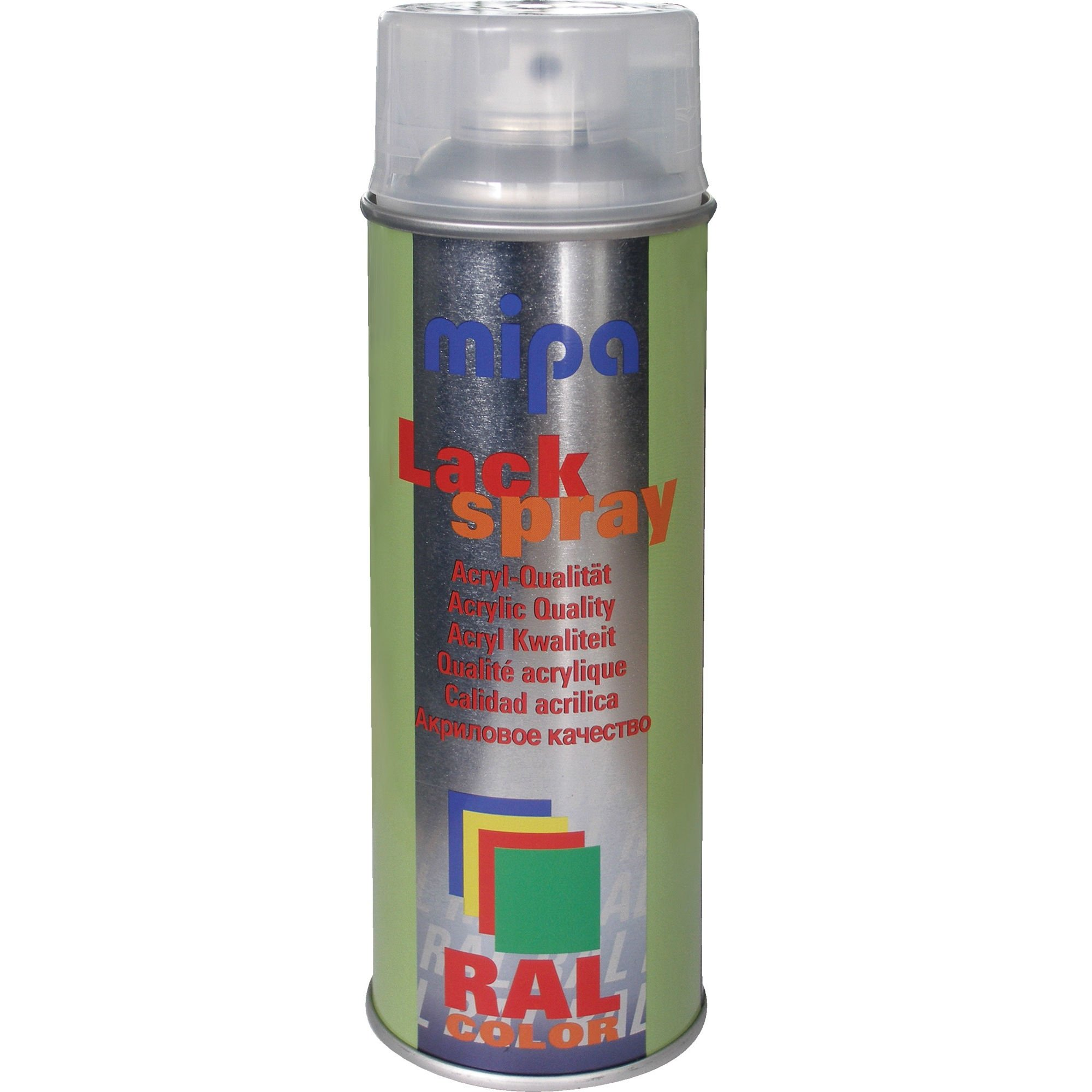 Mipa RAL 9005 Lackspray silkemat sort