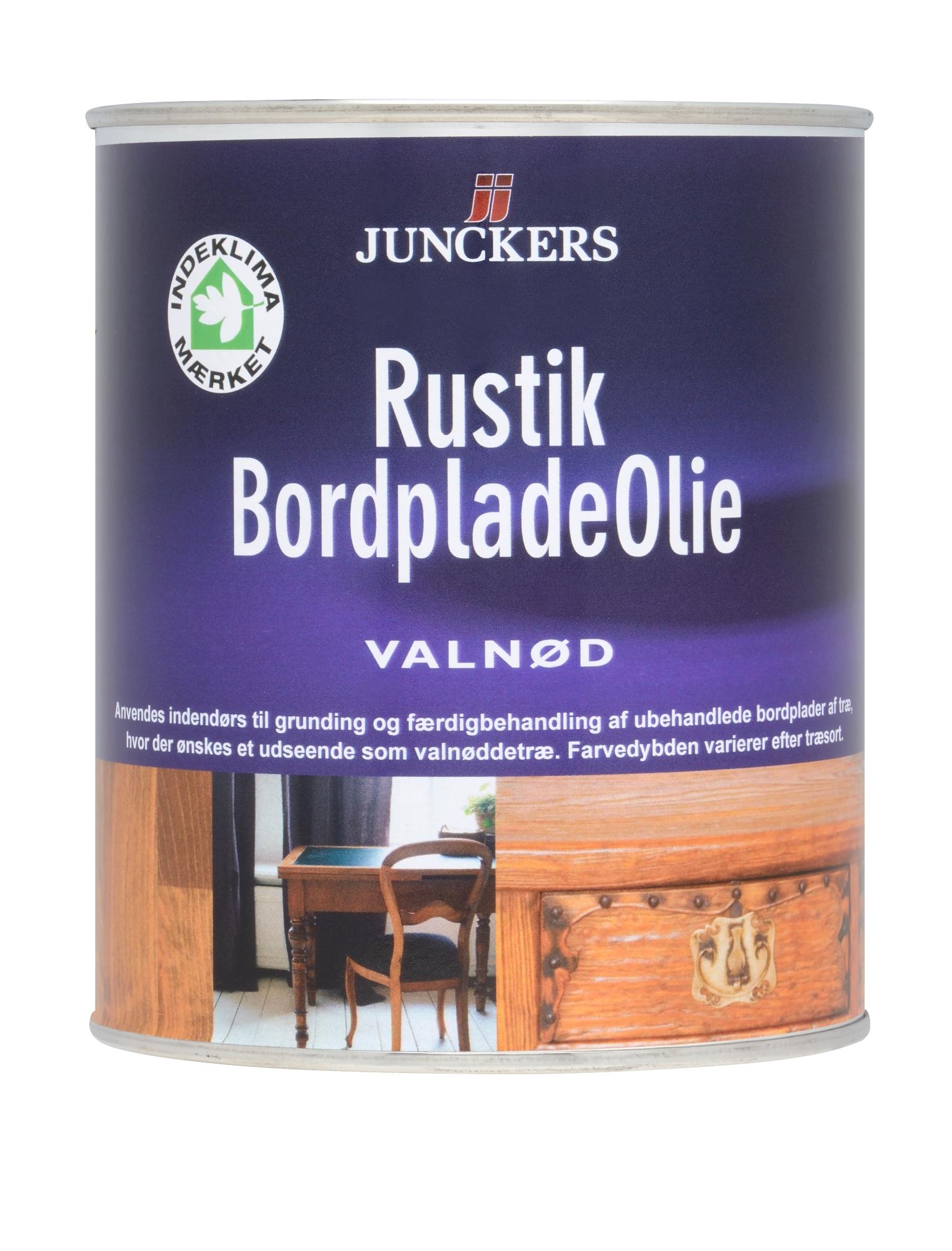 Unik Junckers bordpladeolie valnød 0,75 L - Træpleje - efarvehandel.dk VG91