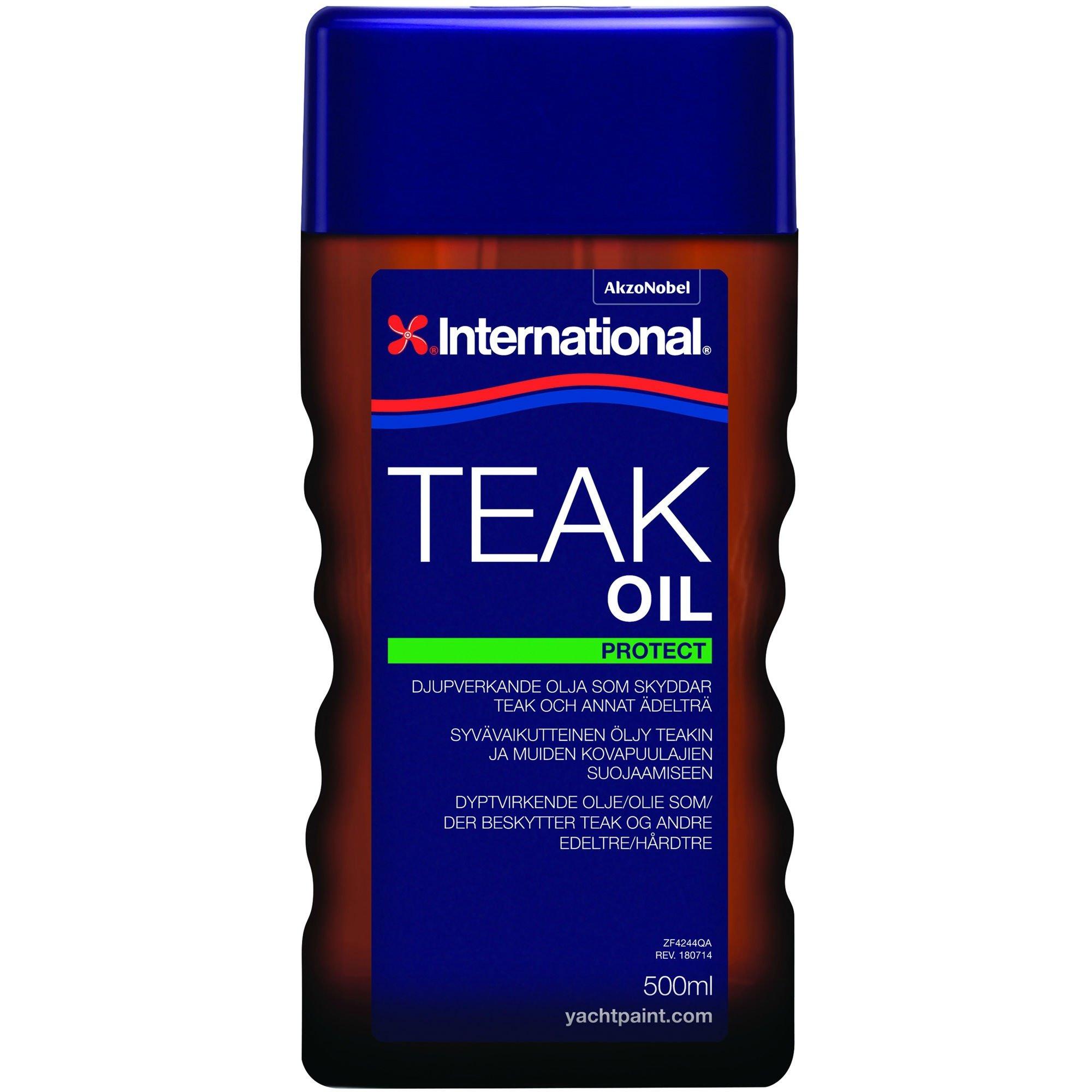 International teakolie-0,5 ltr