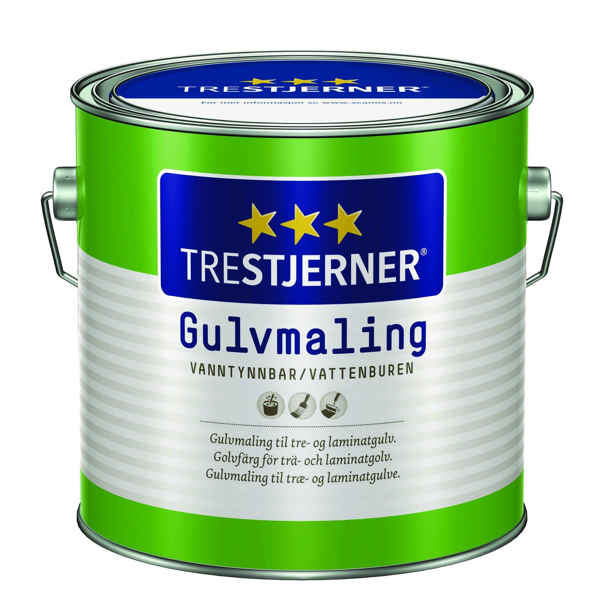 Trestjerner Gulvmaling Træ, Laminat & Beton-2,7 L
